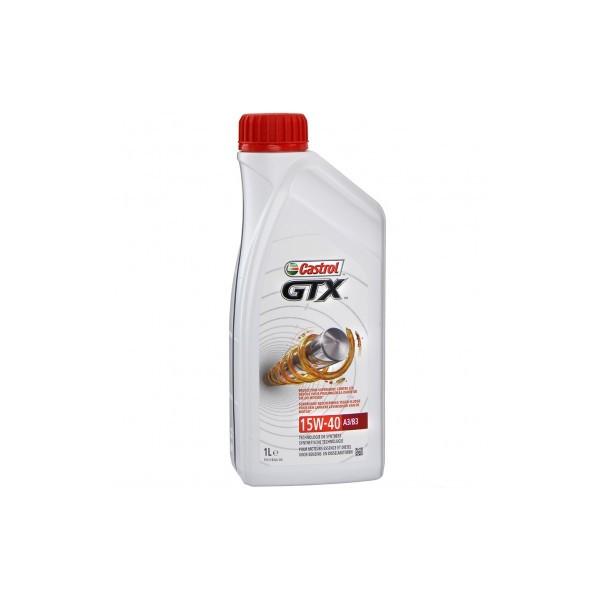 Motorolie Castrol GTX 15W40 A3/B3 1L 15A9E5