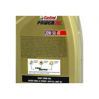 Castrol Power RS 4T 20W50 motorolie 1L 154F8D