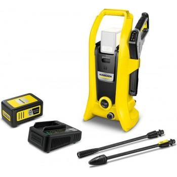 Kärcher Accu Hogedrukreiniger K2 Battery inclusief starterpack oplader & Accu 36/50 - 36 Volt
