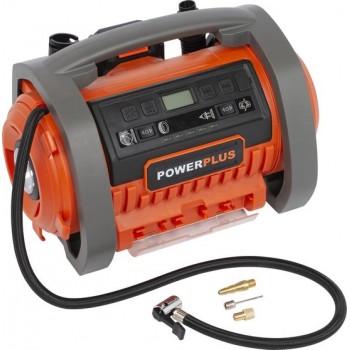 Powerplus POWDP7030 Inflator/deflator 20v + 220v (Geen batt.)