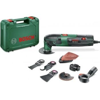 Bosch PMF 220 CE Multitool set - Oscillerend - 220 Watt -Inclusief 9 accessoires en kunststof koffer