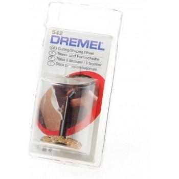 Dremel Frees/schaafschijf 25,4 mm - 542