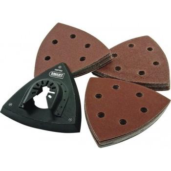 SMART Blades Multitool Schuurzool + Schuurpapier Set 31-delig - Velcro - 93mm - 3x10 stuks