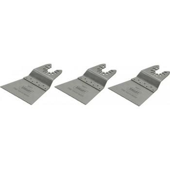 SMART Blades Multitool Zaagblad - Fijntandig - 63x42mm - Hout/Kunststof - 3 stuks