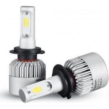 LED koplampen set / H7 fitting / Waterproof / 36W 4000 lumen per lamp 8000 totaal