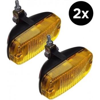 Talmu dagrijlamp geel set van 2 stuks voor auto of vrachtwagen