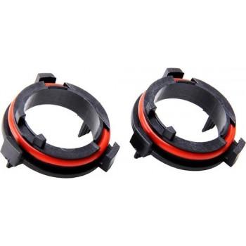 1 Paar H7 LED Koplamp Gloeilamp Lampvoet Clips Houder Adapter voor Opel Cars
