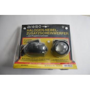Set mistlampen met lens H3/55w 12 volt