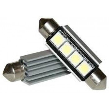 CANBUS Dome Auto Interieur Licht 4 LED C5W SMD 42mm