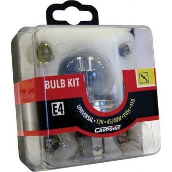 Autolampenset Duplo 45/40W 7-delig