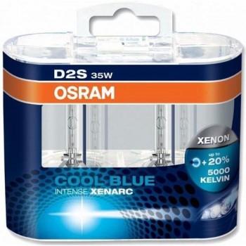D2S Xenon lamp Osram Cool Blue Intense 35w 2 stk