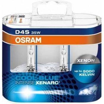 D4S Xenon lamp Osram Cool Blue Intense 35w 2 stk