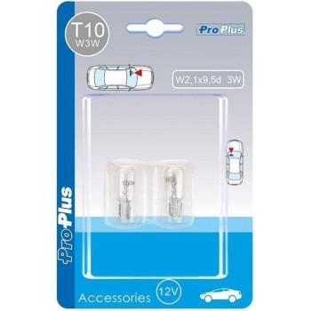 Proplus Autolampen T10 12 Volt 3 Watt 2 Stuks