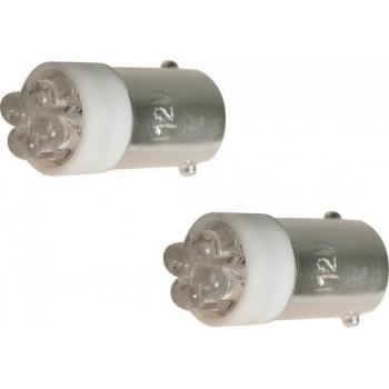 Carpoint Autolampen T4w Led 12 Volt 1 Watt Wit 2 Stuks