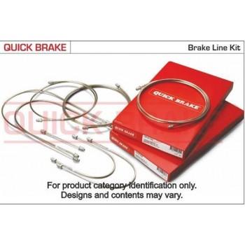 QUICK BRAKE Remleiding -  set  8 delige Renault Megane (BA/01 DA/01 EA/01 KA/01 LA/01)