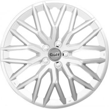 GULF GT40 4 wielhoezen 15 inch zilver