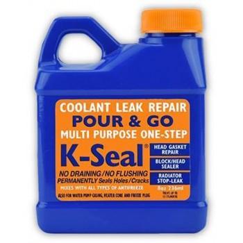 K-Seal reparatie van koelvloeistoflekken