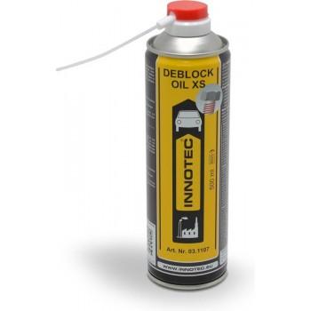 Innotec Deblock Oil XS 500ml - Roestoplosser - Voorkom beschadigingen bij losdraaien