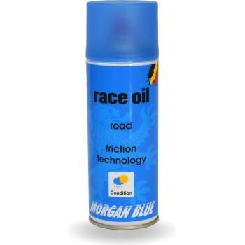 Morgan Blue Race Oil Kettingolie - 400cc - Kettingspray Fiets - Smeerolie Fiets - Fietsolie - Fietsonderhoud