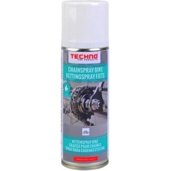 Techno kettingspray fiets Spray Off Ketting Reiniger 200 ML