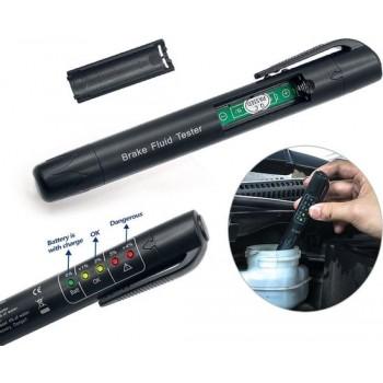 Auto, motor, scooter en brommer remvloeistof tester pen voor zowel DOT3, DOT4 en DOT5