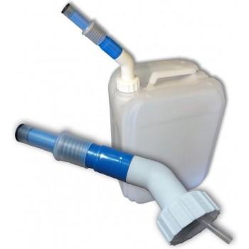 ADBLUE Schenktuit met extra lange hals voor gebruik op een conventionel jerrycan aansluiting dop 45 mm