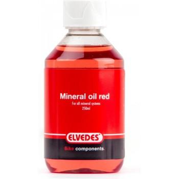 Mineraalolie Elvedes universeel - rood (250 ml)