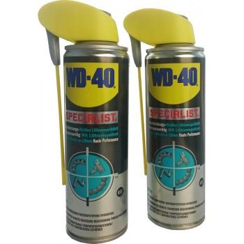 WD-40 Specialist wit Lithium spuitvet, 2x spuitbus à 250ml