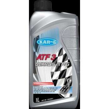 KAR-S ATF OLIE (1LT) ATF3 - Stuurbekrachtigingsolie en Vernsellingsbakolie