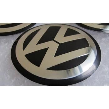 Set van 4 Volkswagen stickers 60mm
