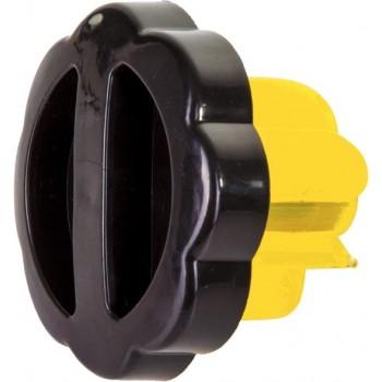Dunlop Noodtankdop Universeel Zwart/geel