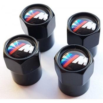 Ventieldoppen BMW M logo / embleem / badge - velgen - accessoire - 36122447401 - 36122447402