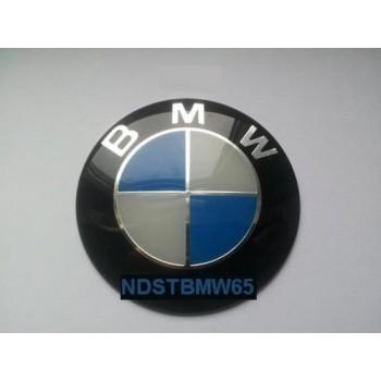 Naafdop stickers 65mm voor BMW Velgen stickers - Set van 4 stuks -Naafdoppen