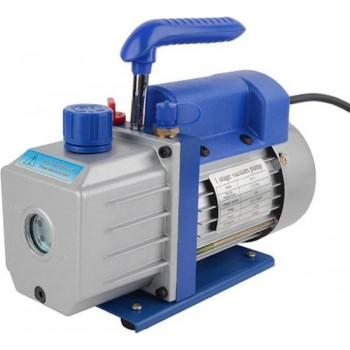 Vacuumpomp, Vacuum pomp 1 traps, voor airco of koeltechniek incl. vacuumpompolie