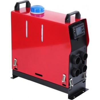 Brandstof Heater werkt op 12 V / 24 V - 5000W - Ideaal Voor Auto, Camper, Vrachtwagen, Garage - Luchtverwarming of Trailer