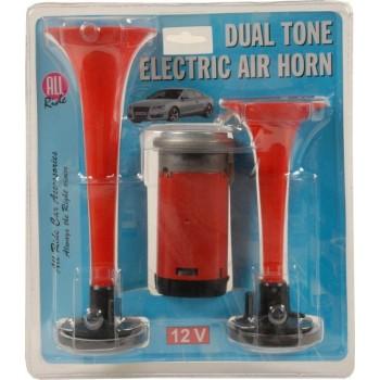 Elektrische lucht hoorn 12Volt
