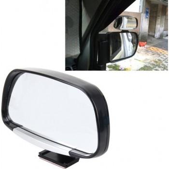 Auto Blind Spot Zijaanzicht Groothoek Convex Spiegel Vision Collectie Zijaanzicht Spiegel Dodehoekspiegel (zwart)