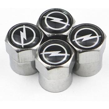 TT-products ventieldoppen aluminium Opel 4 stuks