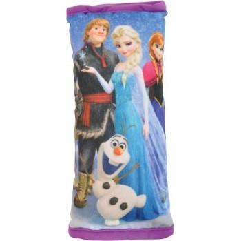 Pluche Disney Frozen auto gordelhoes/gordelbeschermer 28 cm - Gordelkussen - Gordelbeschermhoezen - Auto accessoires