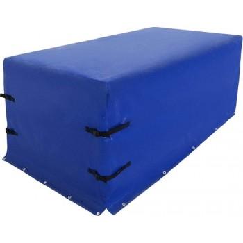 Trend24 - Dekzeil - Zeildoek - Trailerzeil - Waterdicht - Blauw - 207,5 x 115 x 90 cm
