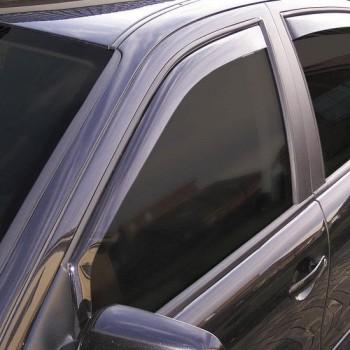 ClimAir Zijwindschermen Dark passend voor Citroen C4 5 deurs 2010-