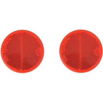 Proplus Reflectoren 60 Mm Zelfklevend Rood 2 Stuks In Blister
