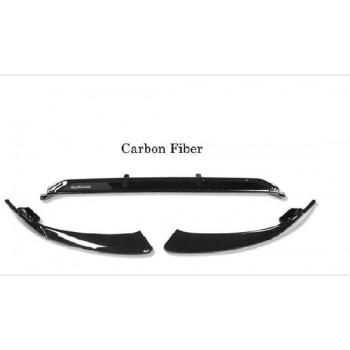 Frontspoiler Full  Carbon | Brabus voorbumper spoiler | Mercedes W205 | Alleen passend voor  C260L C200L bumpers