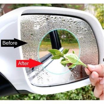 Hiden   Waterdichte Zijspiegel Anti-Vocht Stickers – Veiligheid – Auto & Motor   2 stuks