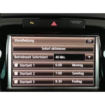 Retrofit kir standkachel VW Touareg 7P 2 zone clima