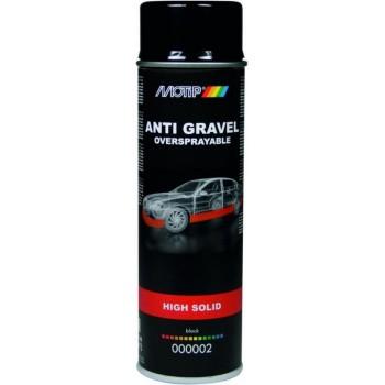 Anti Gravel High Solid Zwart 500ML 500 ml