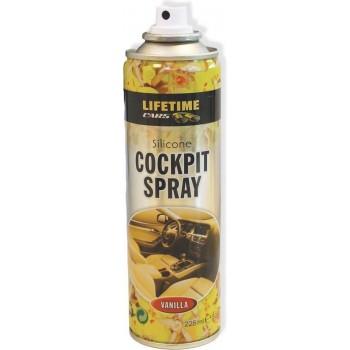 Lifetime Cars Cockpitspray  Cockpitspray Geur: vanille - Beschermend