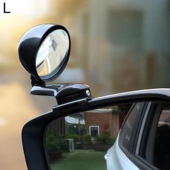 3R-094 Extra Achteruitkijkspiegel Auto Verstelbare dodehoekspiegel Groothoek Achteruitkijkspiegel voor linkerspiegel