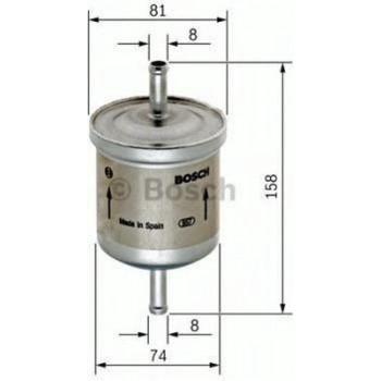 BOSCH Filters en essentie 0450905903