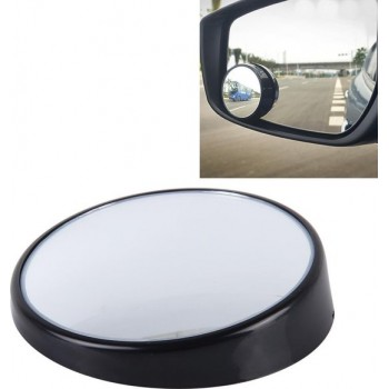 3R-023 Car Blind Spot Achteraanzicht Wide Angle Mirror, Diameter: 7,5 cm (zwart)